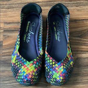 Skechers lightweight, multicolor, size 9